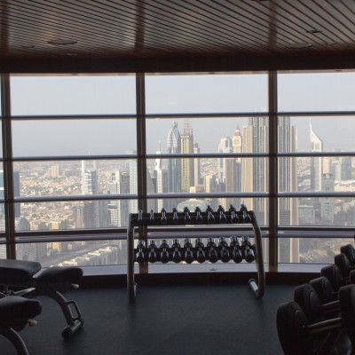 Burj Khalifa Fitness Area Level 77