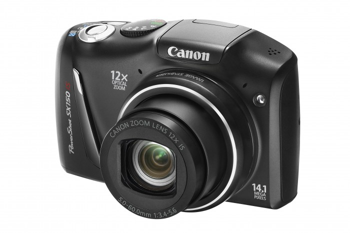 The Canon Powershot SX150 IS