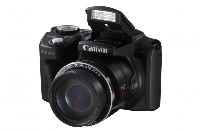 The Canon PowerShot SX500 IS