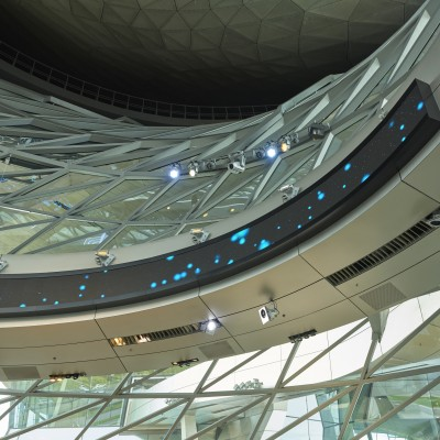 BMW World Interior