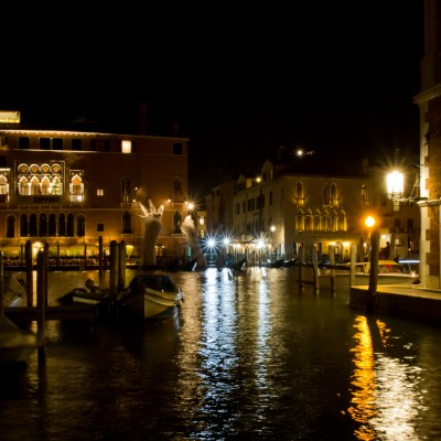 Canale Grande at Night
