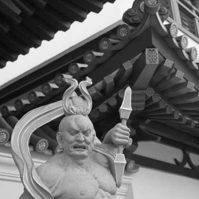 Buddhist Temple Statue